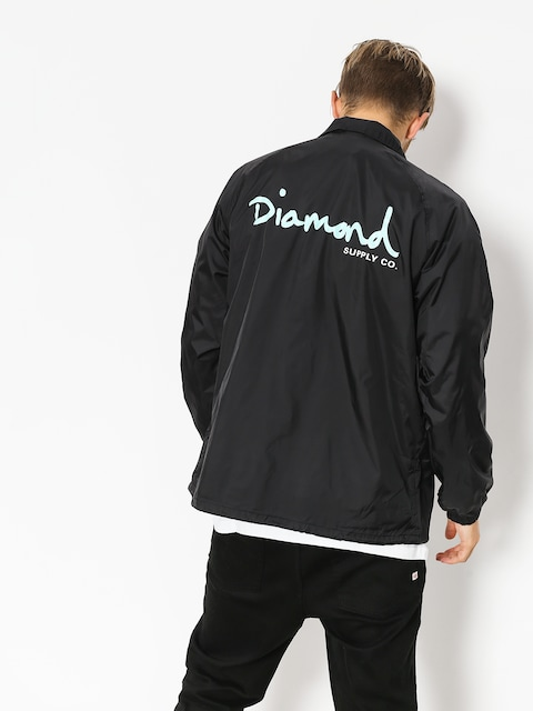 Diamond Supply Co. Jacket Og Script Coach (black)