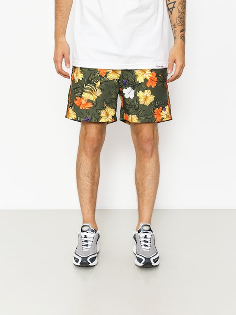 Diamond Supply Co. Boardshorts Aloha Floral (olive)