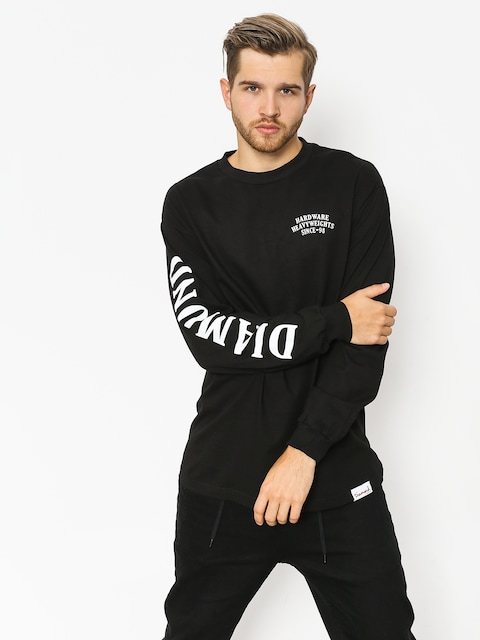 Diamond Supply Co. Longsleeve Bulldogs (black)