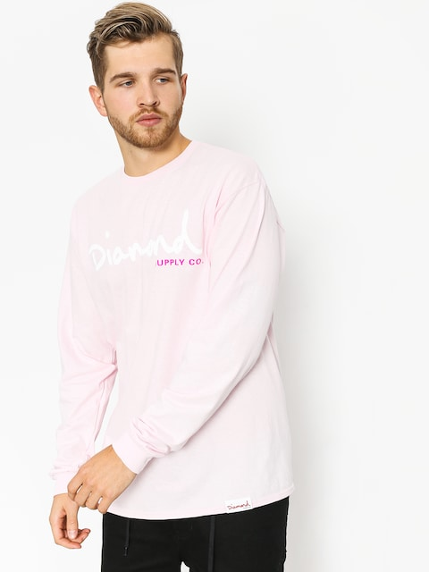 Diamond Supply Co. Longsleeve Og Script (pink)