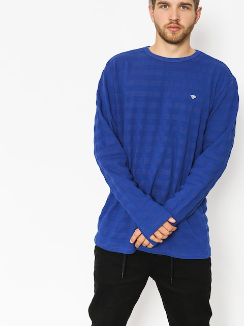 Diamond Supply Co. Longsleeve Sportman Ls (navy)