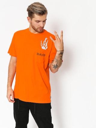 Diamond Supply Co. T-shirt Hand Signs Pocket (orange)