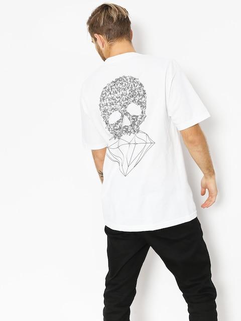 Diamond Supply Co. T-shirt Fasten (white)