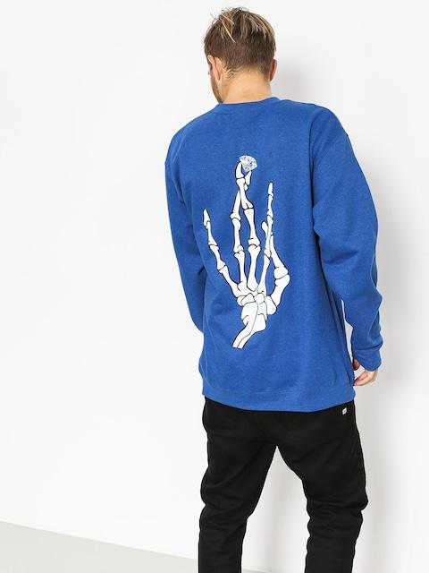 Diamond Supply Co. Sweatshirt Hand Signs (royal)