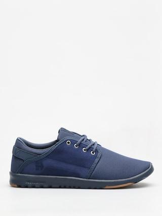 Etnies Shoes Scout (navy/navy/gum)