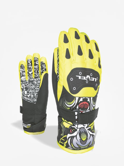 Level Gloves Junior (yellow)