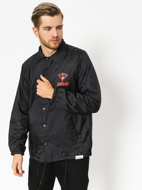 Diamond Supply Co. Jacket Dmnd X Deathwish Coaches (black)