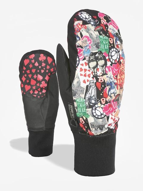 Level Handschuhe Bliss Coral Mitt Wmn (white red)