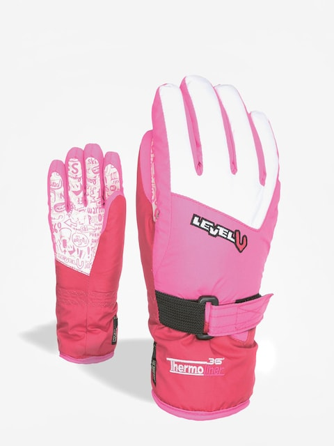 Level Handschuhe Junior (purple)
