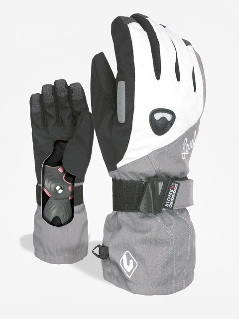 Level Gloves Butterfly Wmn (silver)