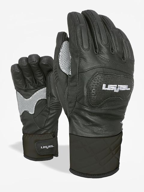 Level Handschuhe Race (black white)