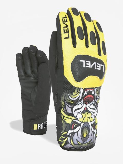 Level Gloves Race Jr (yellow)