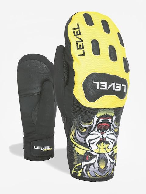 Level Gloves Race Jr Mitt (yellow)