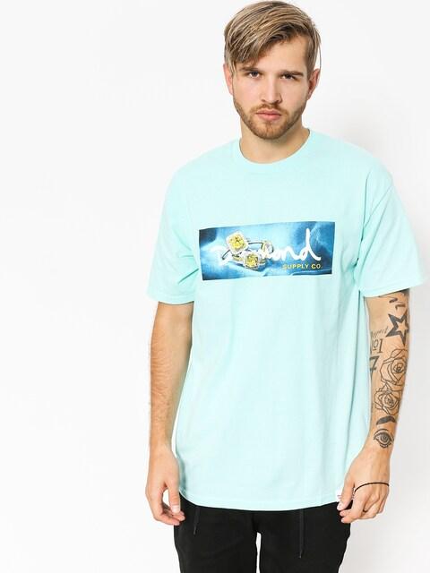 Diamond Supply Co. T-shirt Citrine Box Logo (diamond blue)
