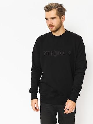 Nervous Sweatshirt Crew Classic (black)