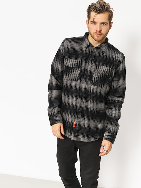 DC Hemd Ombre Flannel (charcoal heather)
