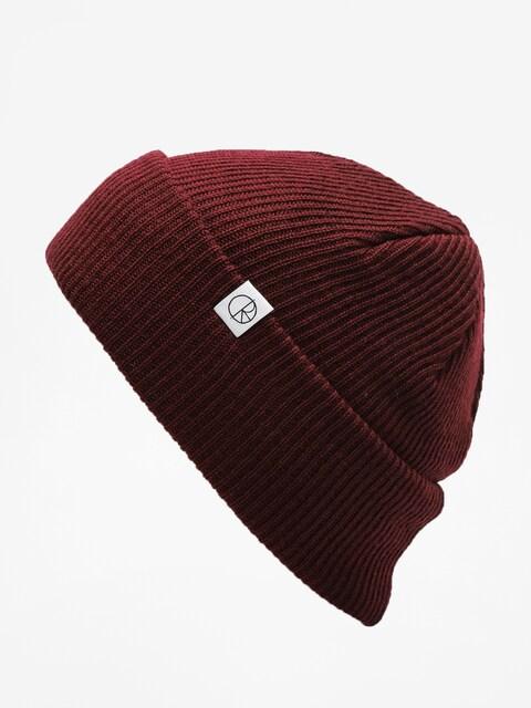 Polar Skate Beanie Merino Wool Beanie (burgundy)