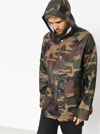 Herschel Supply Co. Jacket Rainwear Classic (woodland camo/white classic logo)
