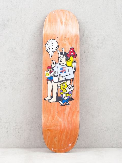 Polar Skate Deck Aaron Herrington Just Like Drugs (orange)