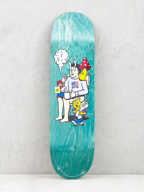 Polar Skate Deck Aaron Herrington Just Like Drugs (green)