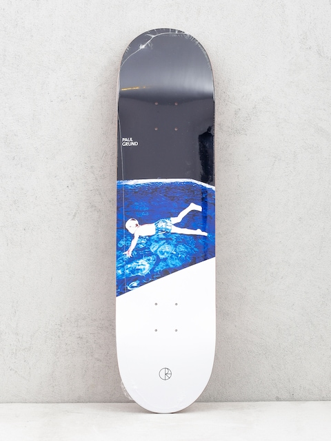 Polar Skate Deck Paul Grund Midnight Dip (black/white)