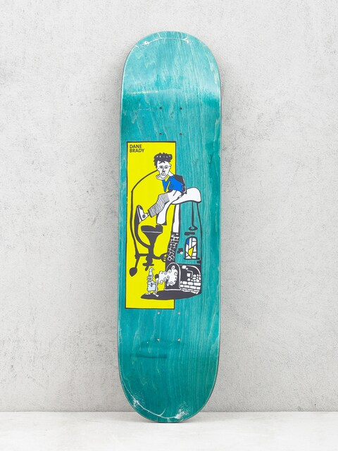 Polar Skate Deck Dane Brady Pizza Oven (green)