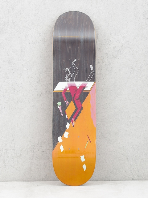 Locals Skateboards Deck Rat Race (orange/black)