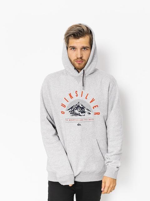 Quiksilver Funktions-Sweatshirt Big Logo Snow (grey heather)