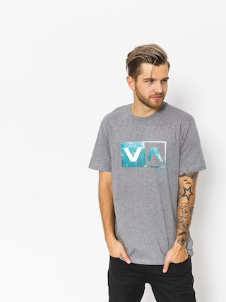 RVCA T-Shirt Reflection Box (athletic heather)