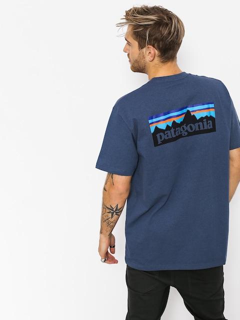 Patagonia T-Shirt Logo Responsibili (dolomite blue)