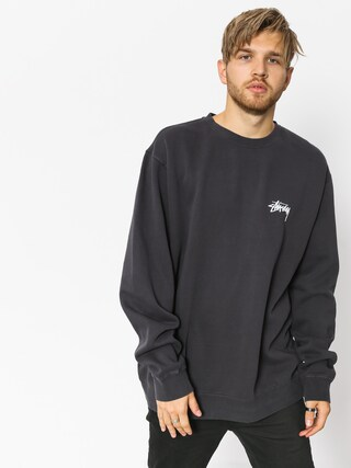 Stussy Sweatshirt 8 Ball Pig  Dyed (black)