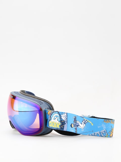 Quiksilver Qs R Goggles (a day at mtn glo blu)