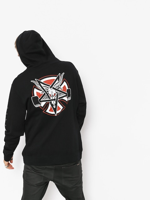 Independent x Thrasher Hoodie Pentagram Cross HD (black)