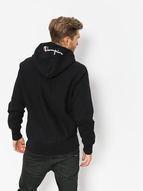 Champion Hoody Reverse Weave Hooded Full Zip Sweatshirt ZHD (nbk)