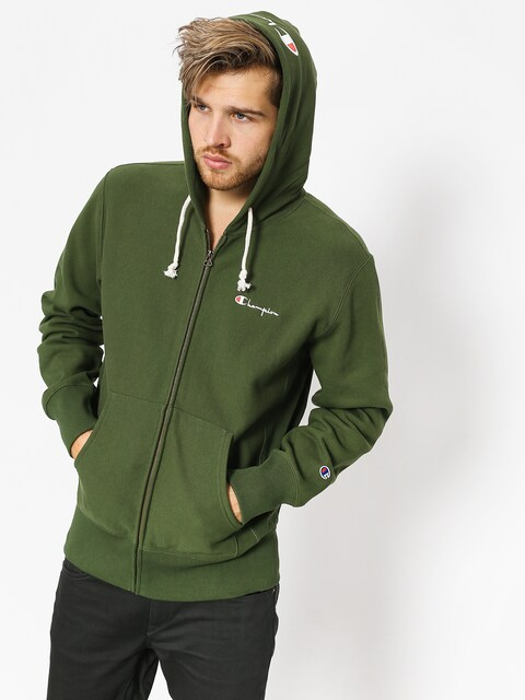 Champion Hoodie Reverse Weave Hooded Full Zip Sweatshirt ZHD (baf)
