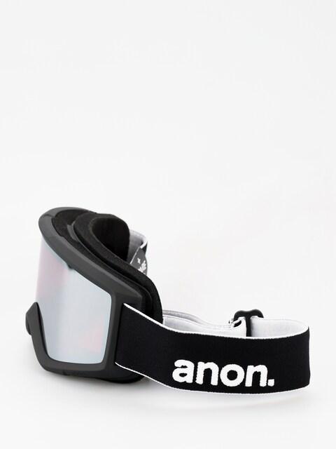 Anon Goggle Helix 2 Sonar W Spare (black/sonar silver)