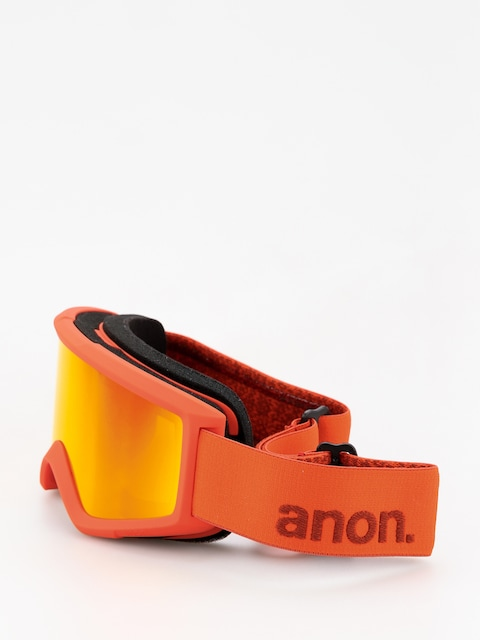 Anon Goggle Helix 2 Sonar W Spare (red/sonar red)