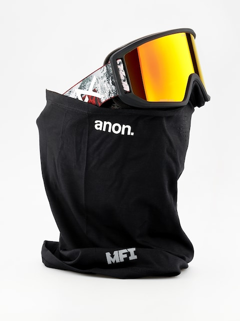 Anon Goggle Relapse Mfi (red planet/sonar red)