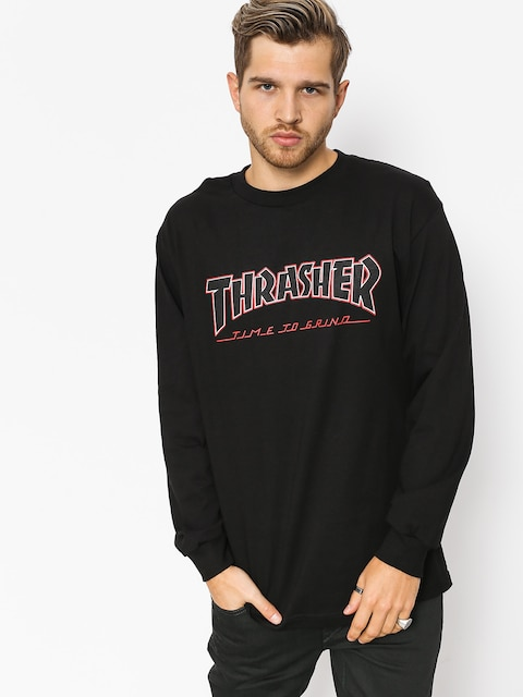 Independent x Thrasher Longsleeve Ttg (black)