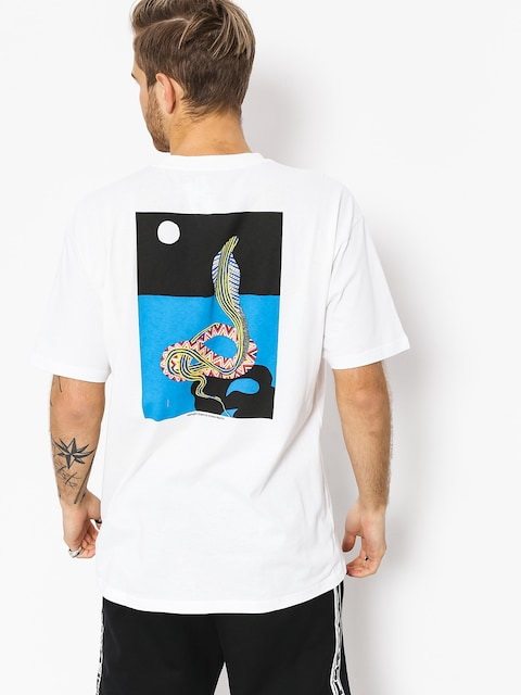 Polar Skate T-shirt Midnight Snake (white)