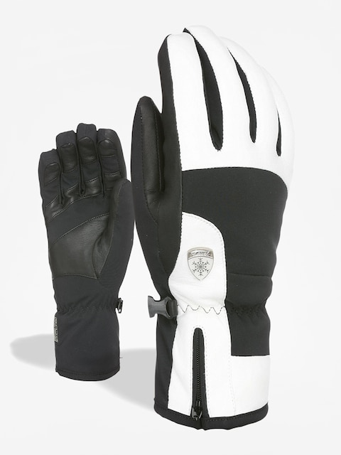 Level Iris Gloves Wmn (black white)