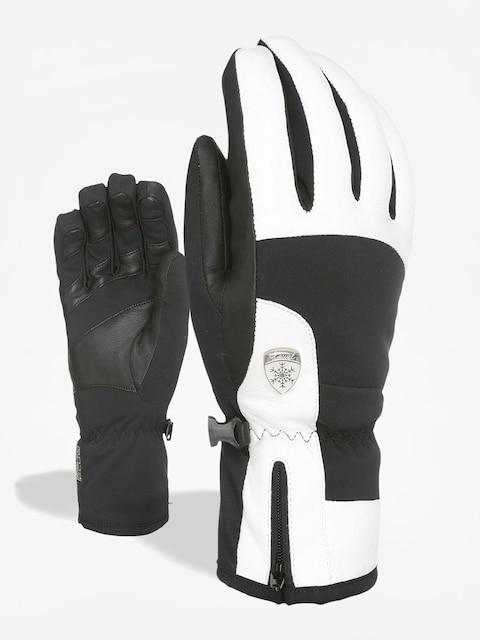 Level Iris Handschuhe Wmn (black white)