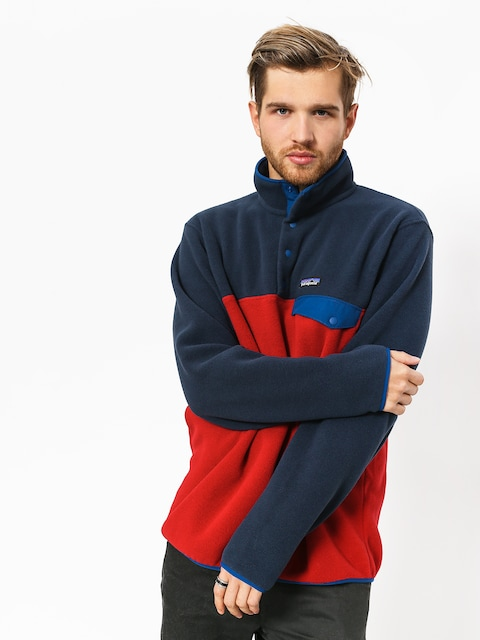 Patagonia Fleece  Synchilla Snap-T (classic red)