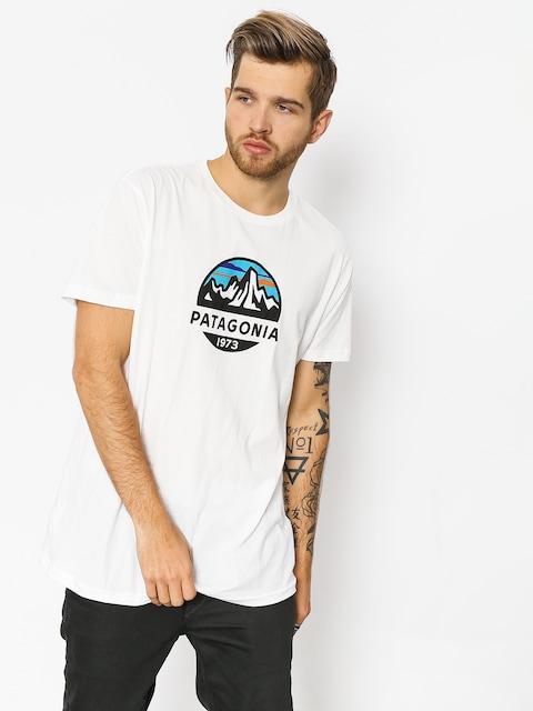 Patagonia T-shirt Fitz Roy Scope Organic (white)