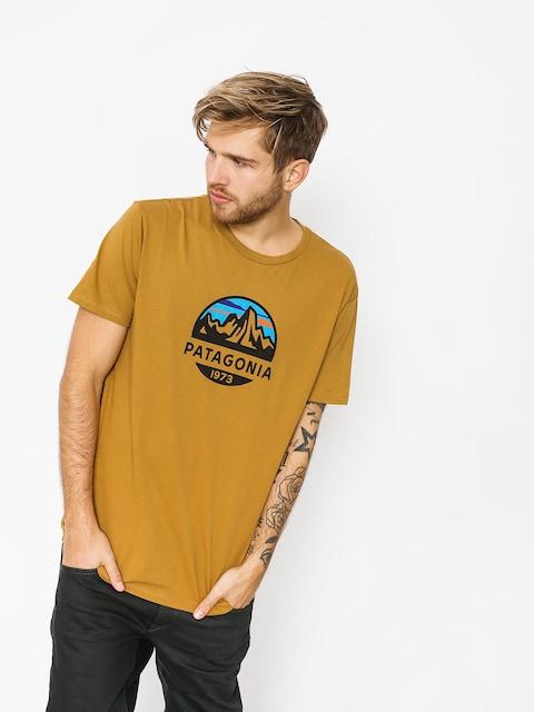 Patagonia T-shirt Fitz Roy Scope Organic (kastanos brown)