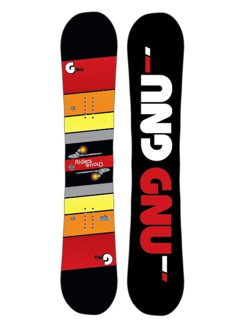 Gnu Snowboard Asym Rider'S Choice C2X (black)
