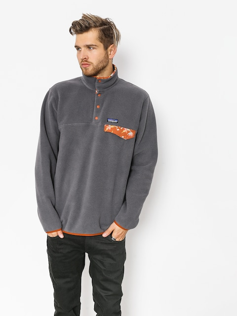 Patagonia Fleece  Synchilla Snap-T (forge grey)