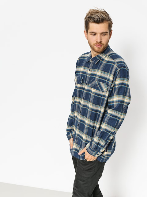 Patagonia Shirt Fjord Flannel (activist navy blue)