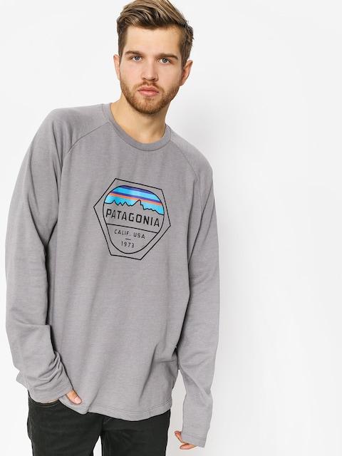 Patagonia Sweatshirt Fitz Roy Hex Lw (feather grey)