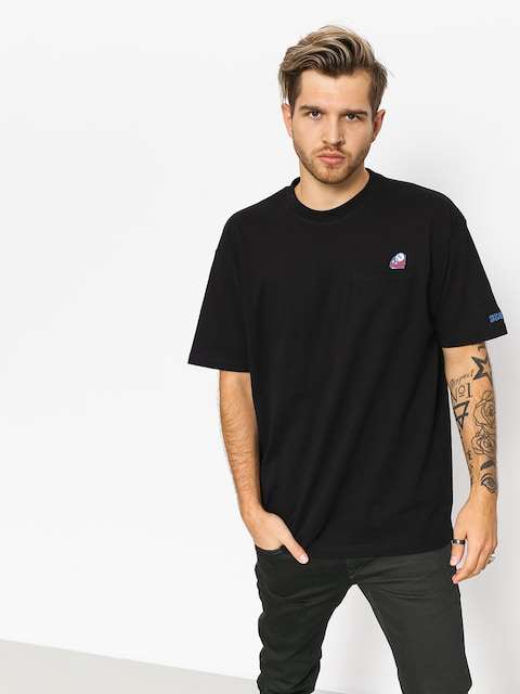 Polar Skate T-shirt Big Boy Pocket (black)